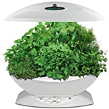 Miracle-Gro AeroGarden 7-Pod Indoor Garden with Gourmet Herb Seed Kit, White