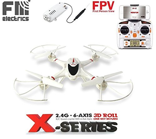 FM electrics MJX x400 W - XXL drone con WiFi FPV Camera in HD e gigante portata
