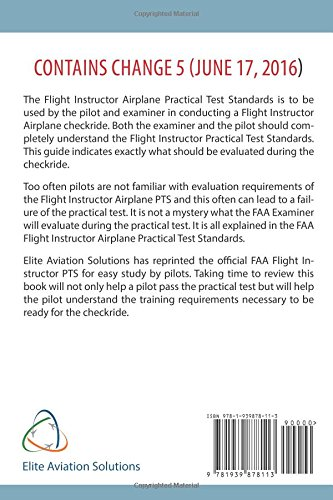 Flight Instructor Practical Test Standards For Airplane (FAA-S-8081-6D)