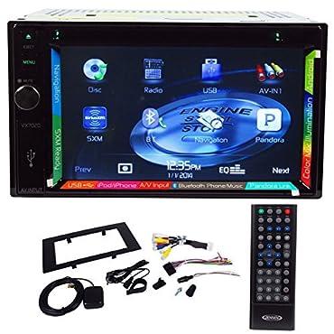 Jensen VX7020 6.2 Double Din Navigation GPS DVD Receiver+License Plate Camera