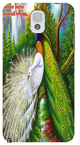 Beautiful Peacock Cell Phone Cases Design Special For Samsung Galaxy Note 3 No.9