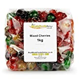 Glace Cherry Medley (Four Colours) 1kg (Buy Whole Foods Online Ltd.)