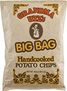 Grandma Utz's BIG BAG Handcooked Potato Chips 4 Pack/15 oz Each