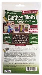 Pro-pest Clothes Moth Trap 3 Packs (6 Traps)