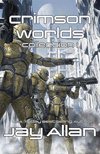 Crimson Worlds Collection by Jay Allan ebook deal