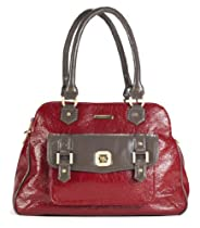 Hot Sale timi & leslie Sophia Diaper Bag, Cherry Red/Taupe