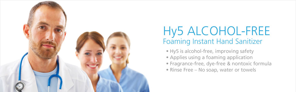 Hy5 Alcohol-Free Hand Sanitizer