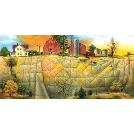 Cheap SunsOut Quilting the Land 1000pc Jigsaw Puzzle by Doug Knutson (B0034N4QAK)