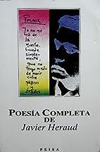 Poesia Completa de Javier Heraud by Javier…
