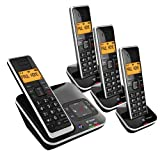 BT Xenon 1500 QUAD Cordless Phone with Answering Machine ( DECT )