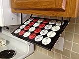 Coffee-Keepers-PM86OF3QSJ-Under-Cabinet-Pod-Storage-Black