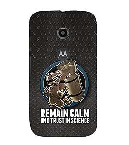EPICCASE Bomb Cases Mobile Back Case Cover For Moto E 2nd Generation (Designer Case)