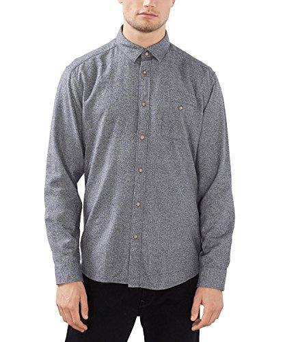 ESPRIT Meliert, Camicia Uomo, Grigio (Grey), Large