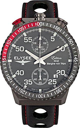 Elysee reloj hombre Graf Berghe von Trips Rally Timer I cronógrafo 80517MM