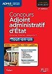 Concours Adjoint administratif d'�tat...