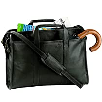 Royce Leather Unisex Ellis Soft Sided Briefcase