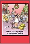 CAB1689 Bangkok Christmas Funny Card...