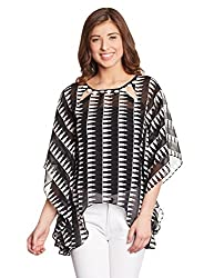 Shakumbhari Women's Tunic Shirt (SW-684-XL_Black)