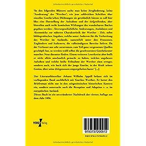 Werther und seine Zeit: Zur Goethe - Literatur