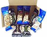 Snack Nut Lovers Bundled Box - Pistachios, Almonds, Peanuts, Cashews & Honey Roasted Peanuts - 8 Packages - Small Storage Space Friendly