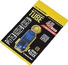 NiteCore Tube Keychain Light T Series 45 Lumen Multi Color Pocket Flashlight, Blue