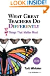 What Great Teachers Do Differently: 1...