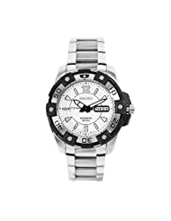 Seiko Men's SKZ269 Superior Stainless Steel White Dial Watch