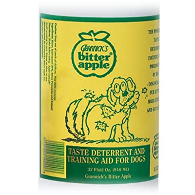 Grannicks Bitter Apple Dog Chew Deterrent, 32-Ounce