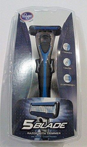 5-blade-razor-with-trimmer-1-razor-2-cartridges