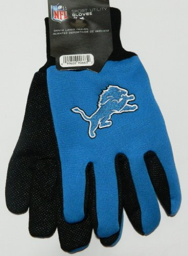 Detroit Lions Two Tone Gloves at Amazon.com