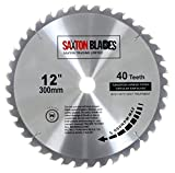 Saxton TCT Circular Saw Blade 300mm x 30mm 40T for Bosch, Makita etc