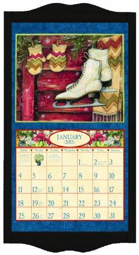 Lang Perfect Timing Lang Classic Black Diamond Calendar Frame, 15 x 25.25 Inches (1016003)