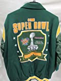 G-III Green Bay Packers Super Bowl XLV Champions Wool and Leather Jacket at Amazon.com