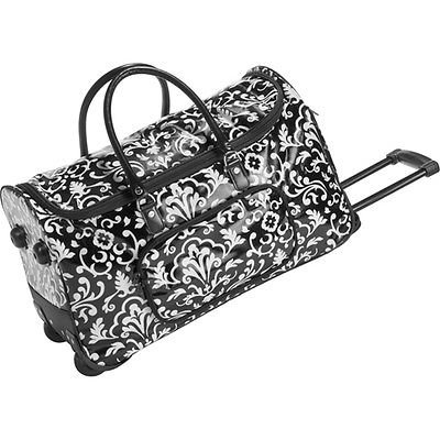 Thirty One Rolling Tote Black Parisian Pop (31 Rolling Thermal compare prices)