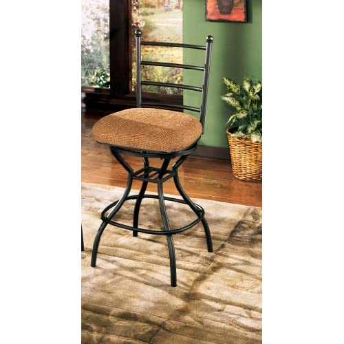 Amazon Com Antigo 24 Swivel Bar Stool Set Of 2