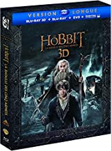 Le Hobbit : La bataille des cinq armées [Version longue - Blu-ray 3D + Blu-ray + DVD + Copie digitale]