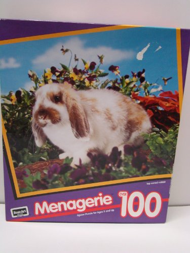 MENAGERIE LOP EARED RABBIT PUZZLE by Rose Art