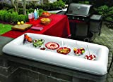 Portable Inflatable Buffet and Salad Bar serving Table