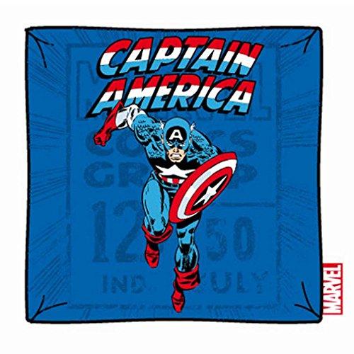Marvel Comics Captain America-Cuscino decorativo con rivestimento-Cap Attack