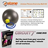 Astone Fitness Exercise Ball Kit (With DVD)by Astone Fitness