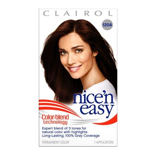 dark brown hair with light brown. Golden dark brown Hair
