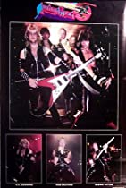 Judas Priest Rob Halford Original 80's 23x35 Poster
