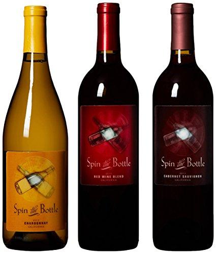 Spin The Bottle California Wine, 3 X 750 Ml