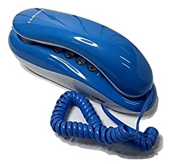 Orientel Landline Phone Telephone Corded Phone KX-T333 (SkyBlue)