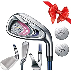 Complete Selection- XXIO 9 MP900 Lady's Iron Set Right Hand Graphite (5,6,7 or 8 pcs) with TWO free Gift Balls