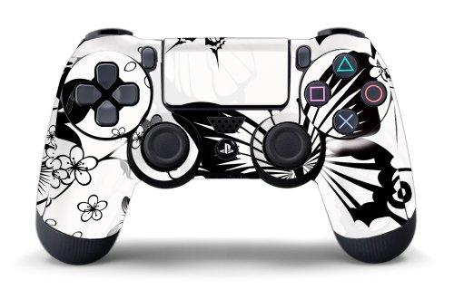 Ps4 White Controller Ps4 Controller Designer Skin