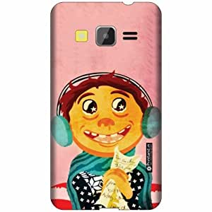 Printland Designer Back Cover For Samsung Galaxy Core Prime - Beauty Cases Cover