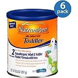 Nutramigen 2 Toddler Powder Formula, 12.6 oz (Pack of 6)