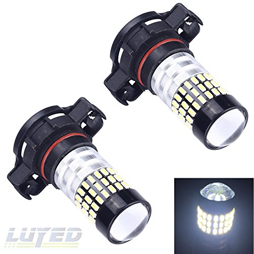 LUYED 2 X 900 Lumens Super Bright 3014 78-EX Chipsets H16 5202 TYPE 1 Led Bulbs Used for DRL or Fog Lights,Xenon White (Led 5202 Fog Lights compare prices)