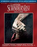 Schindler's List: 20th Anniversary [Blu-ray + DVD + Digital Copy + UltraViolet] (Bilingual)